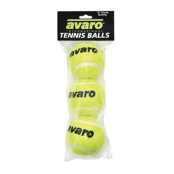 Avaro Tennis Balls – 3pc