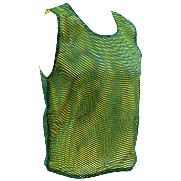 Reversible Mesh Bib – Yellow/Green